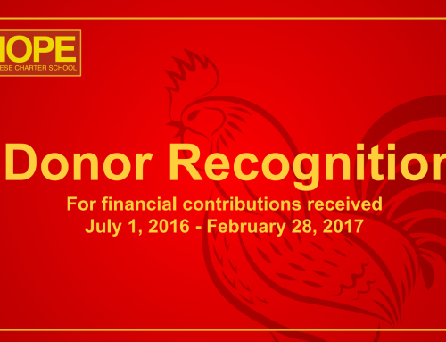 Donor Recognition Report 7/1/16 – 2/28/17