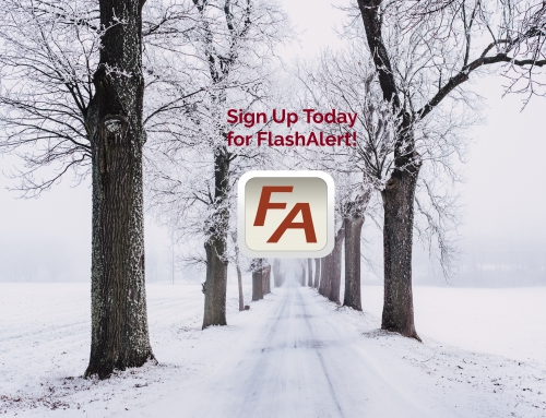 Sign Up for FlashAlert!